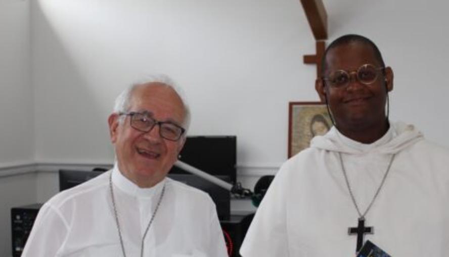 Mgr Riocreux et Mgr Macaire © catholique-guadeloupe.fr