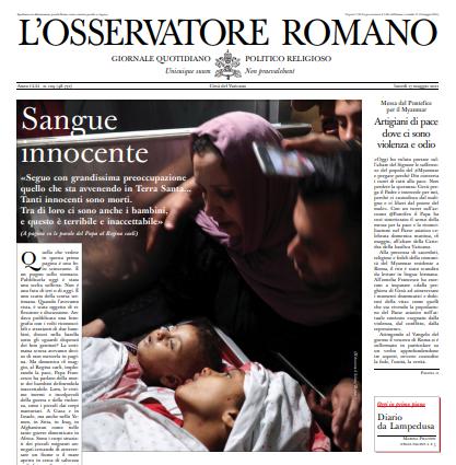 L'Osservatore Romano du 17 mai 2021