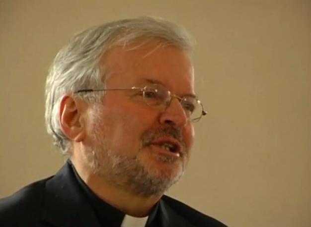 Mgr Aldo Giordano, capture Youtube chiesadimilano.it