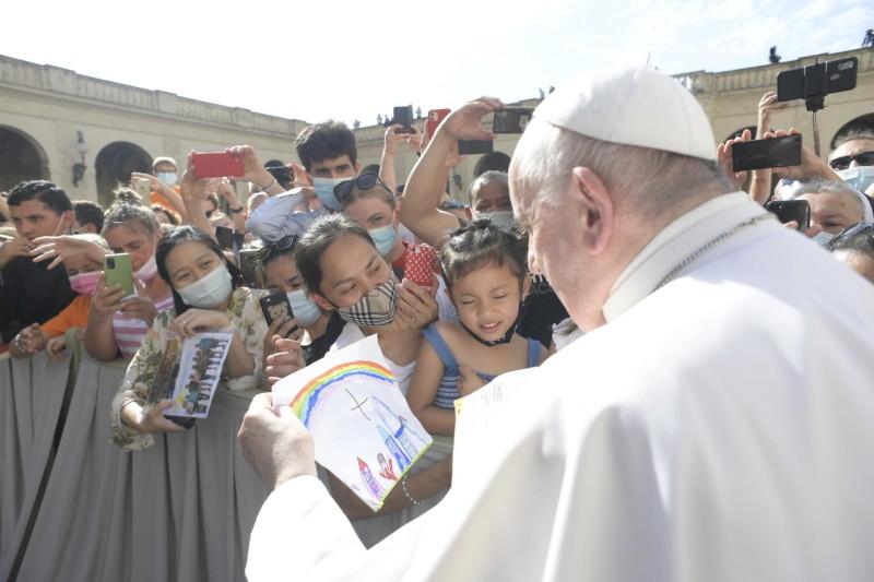 Enfants, 30 juin 2021 © Vatican Media