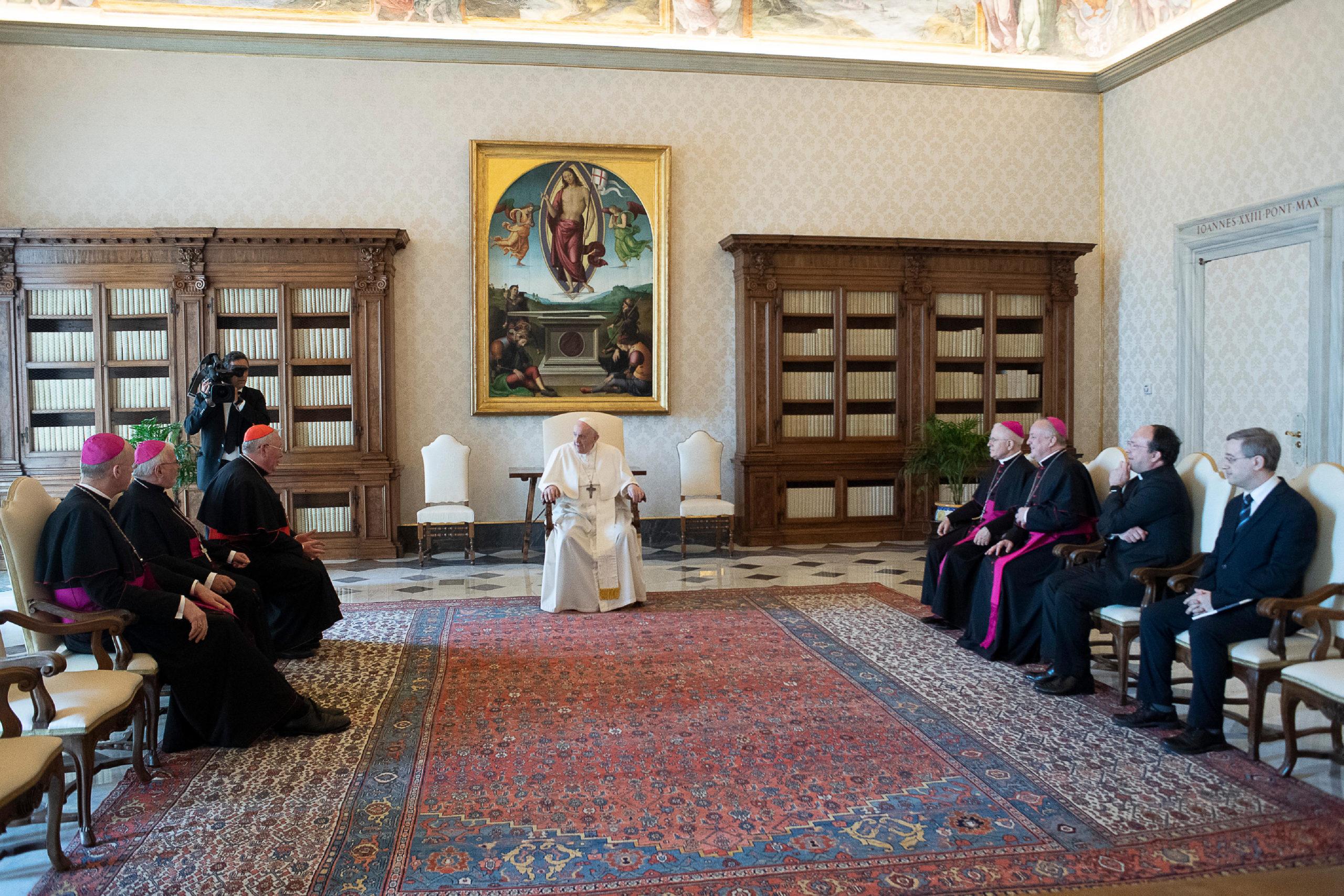 Présidence de la Comece, 11 juin 2021 © Vatican Media