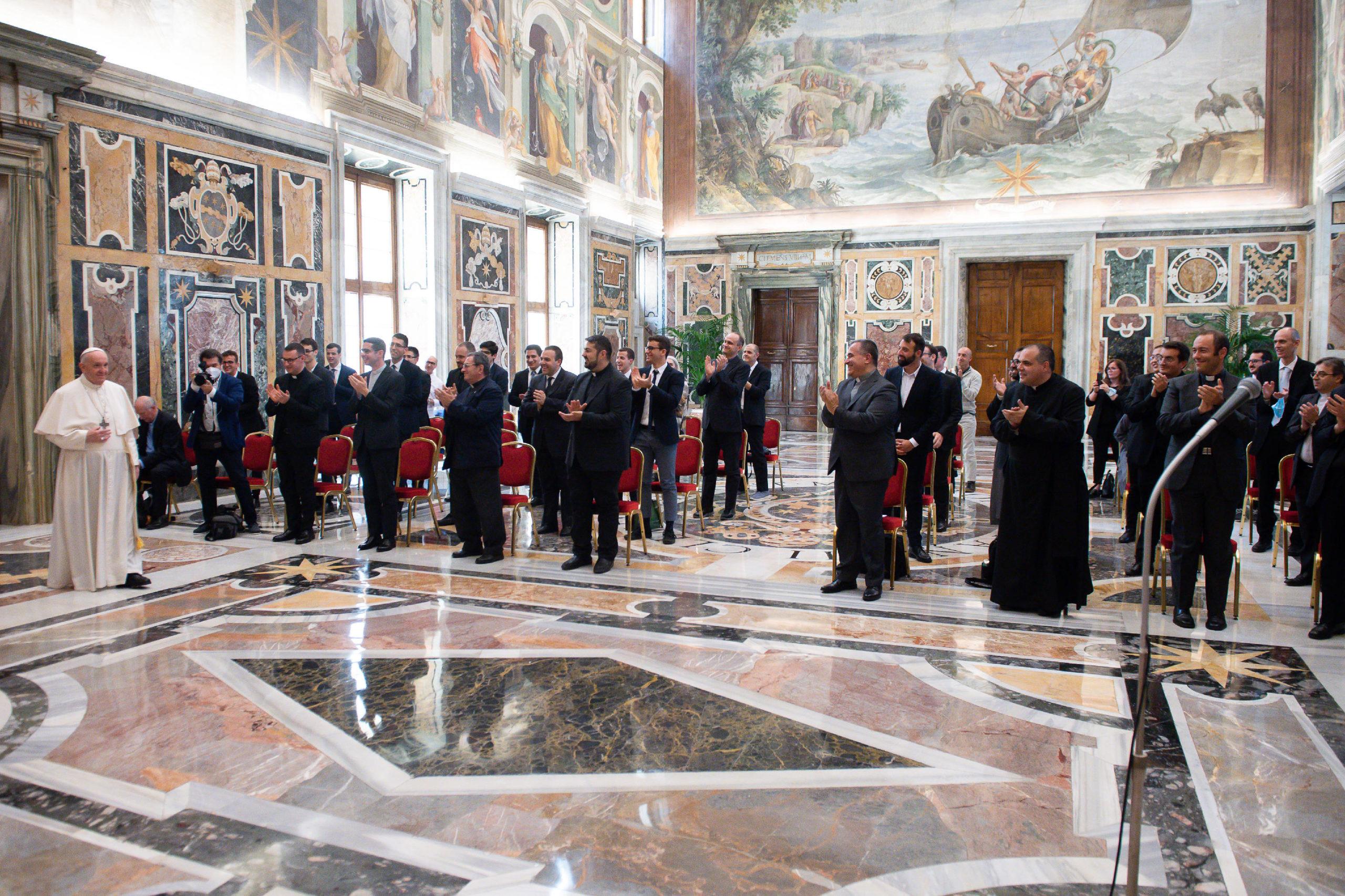 """Séminaire pontifical régional des Marches """"Pio XI"""" © Vatican Media"""