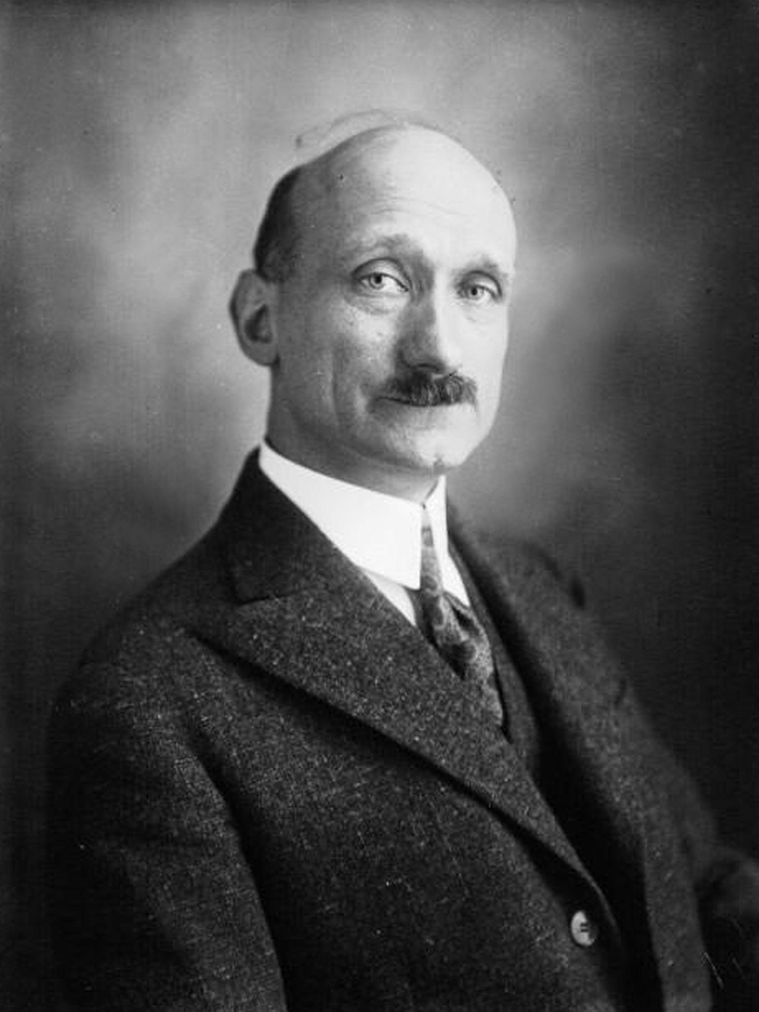 Robert Schuman, député de la Moselle (1929) © DP