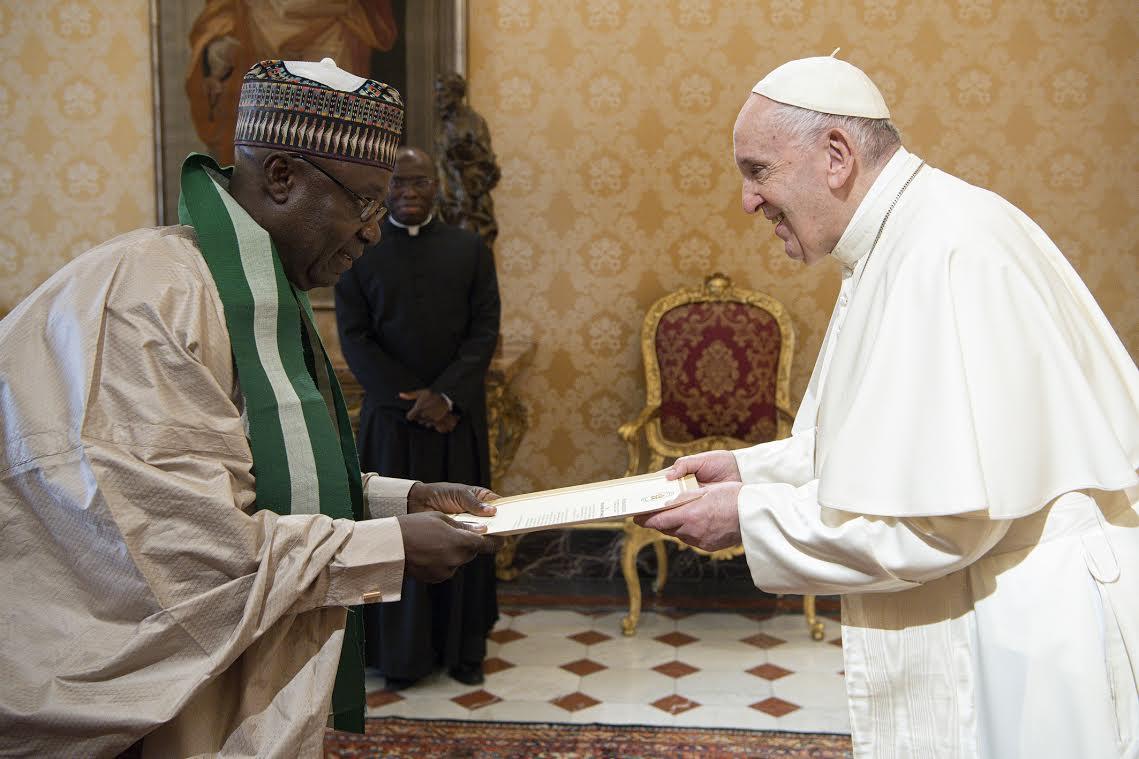 M. Adikwu Oga Paul (Nigeria) ©Vatican Media