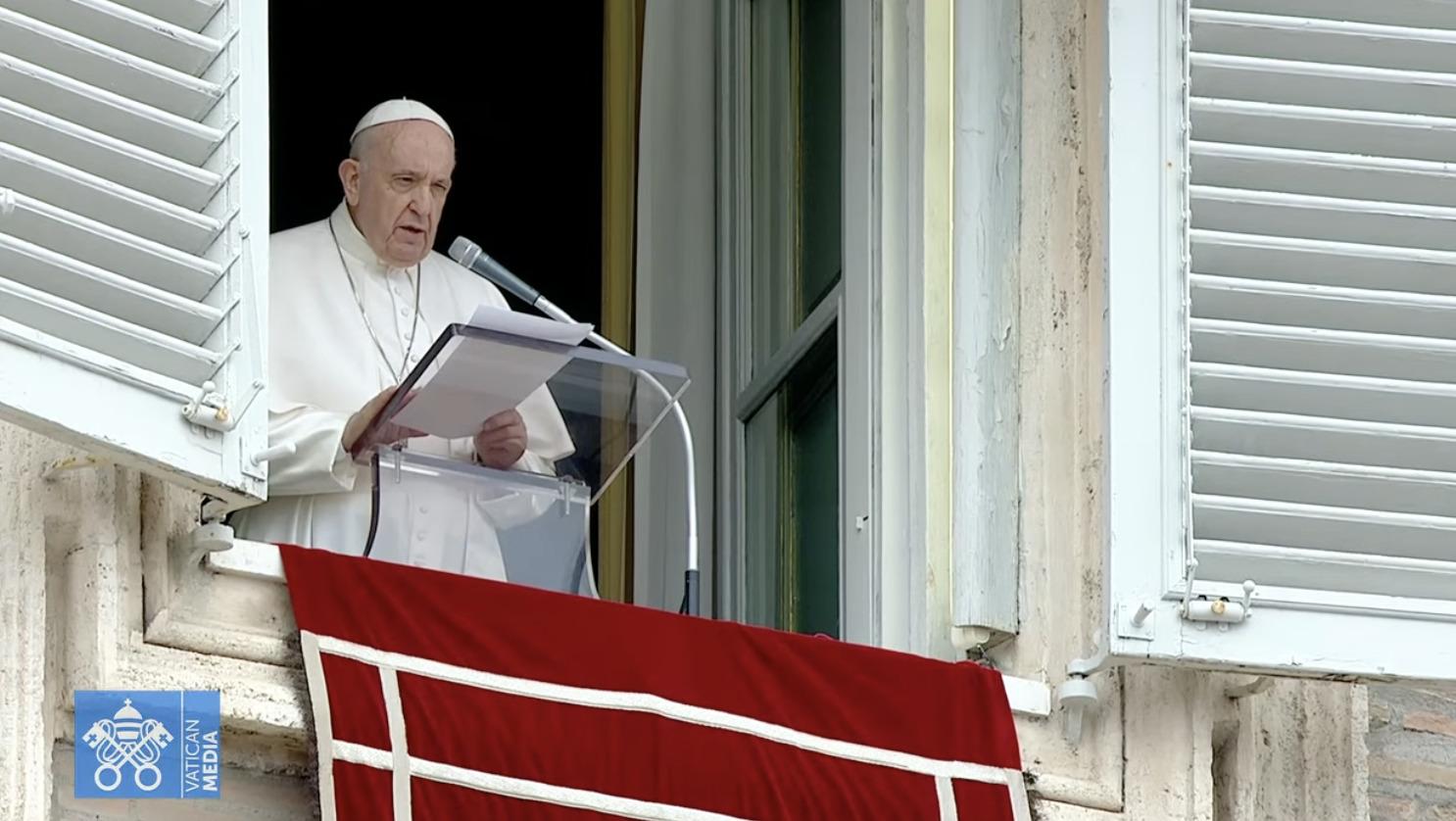 Angélus du 6 juin 2021, capture Vatican Media