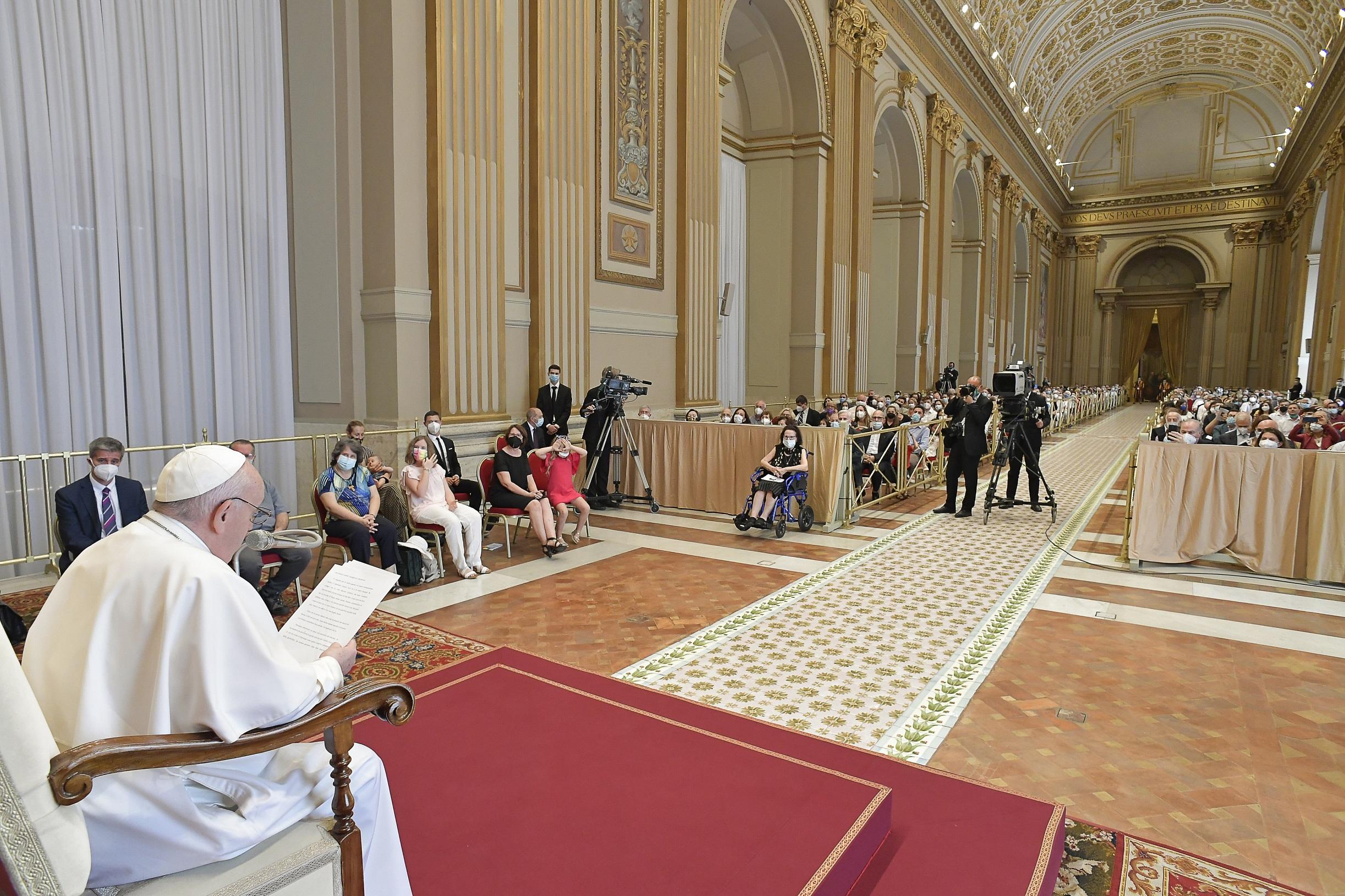 Diacres permanents du diocèse de Rome © Vatican Media
