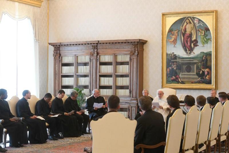 Communauté de Saint-Louis-des-Français de Rome, 7 juin 2021 © Vatican Media