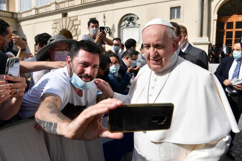 Audience générale du 16 juin 2021 © Vatican Media