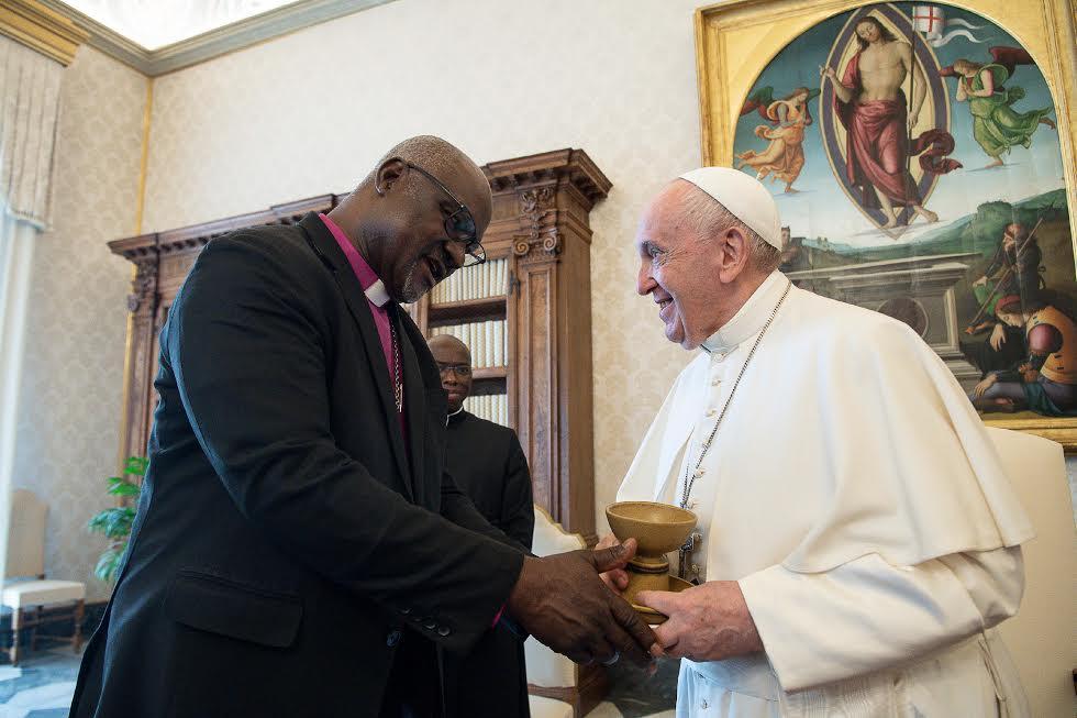 L'archevêque luthérien Panti Filibus Musa © Vatican Media