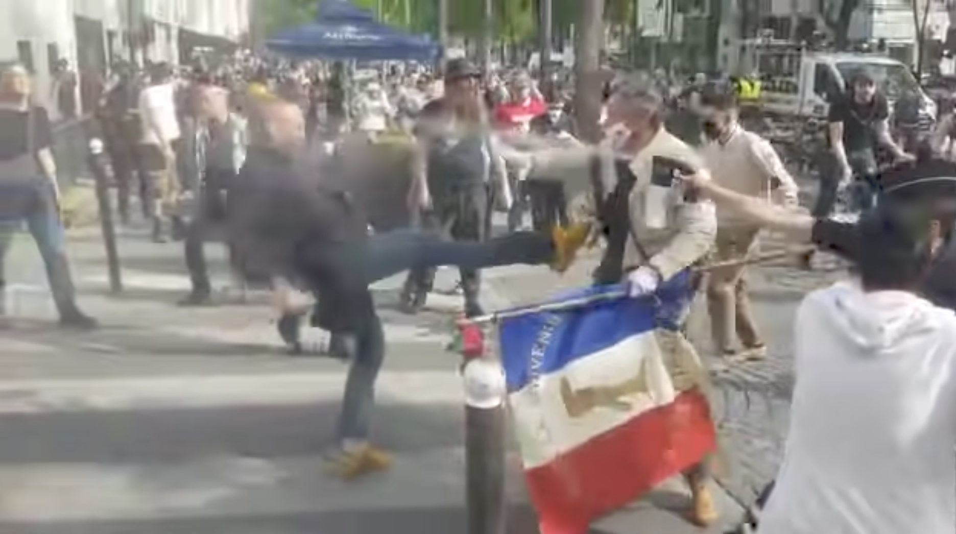 Marche des Otages, Capture YouTube, DR Diocèse de Paris