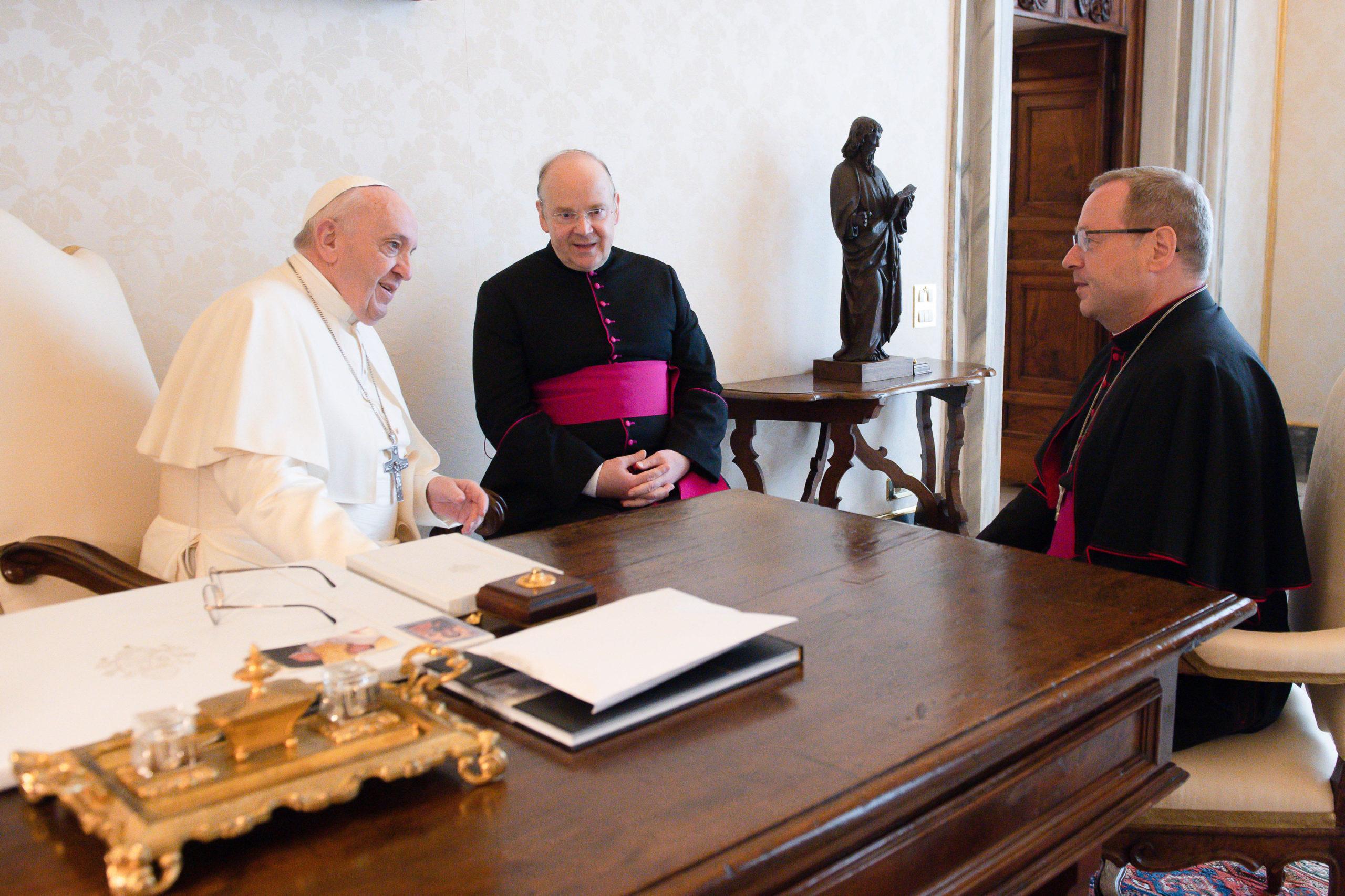 Mgr Georg Bätzing © Vatican Media