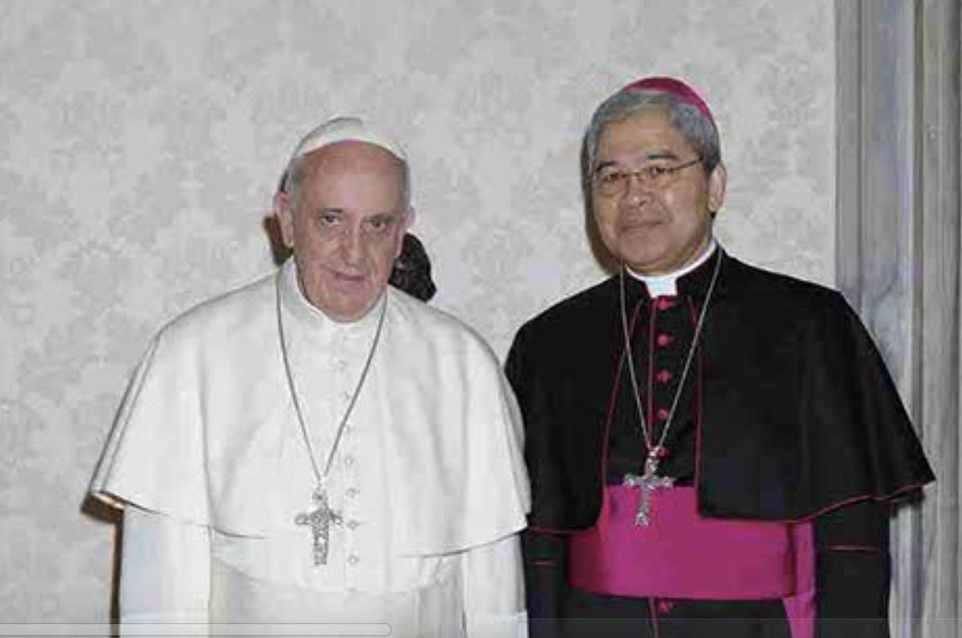Mgr Adolfo Tito Yllana © L'Osservatore Romano