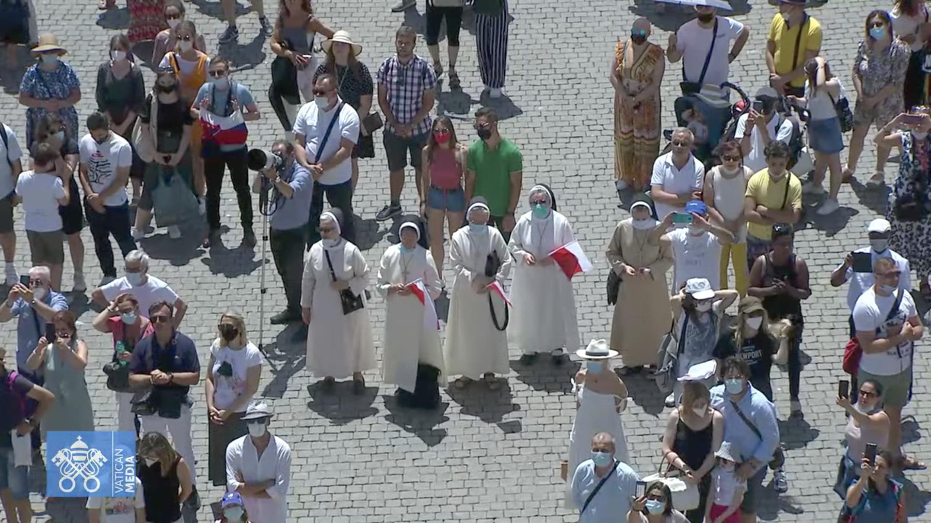 Angélus du 27 juin 2021, capture sur Vatican YouTube