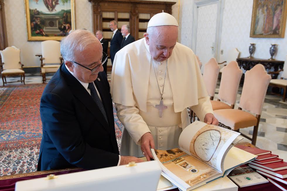 Fra' Marco Luzzago, lieutenant du Grand Maître du SMOM © Vatican Media