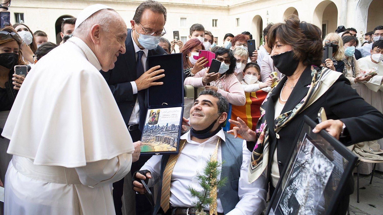 Michael Haddad © Vatican Media