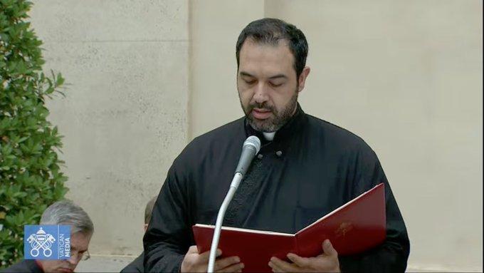 Catéchèse en arabe, 23 juin 2021, capture Vatican Media