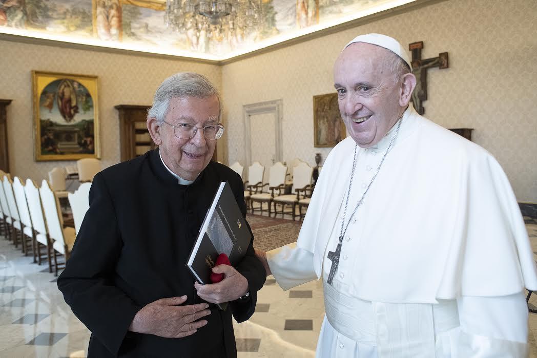 Mgr Jean Landousies 07-06-2021 © Vatican Media