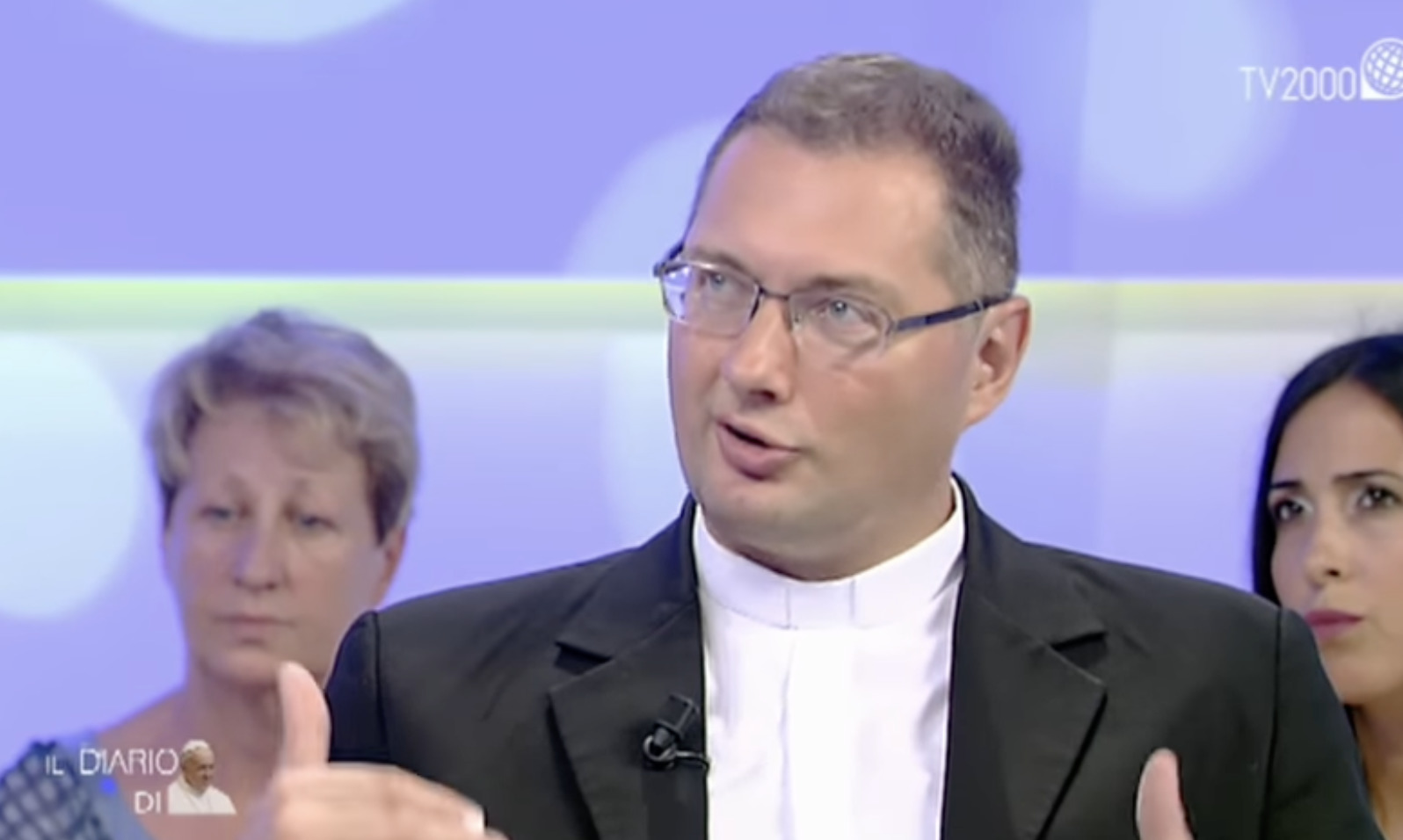 Mgr Visvaldas Kulbokas, capture ZENI / TV 2000