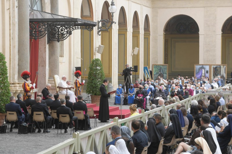 Audience du 23 juin 2021 © Vatican Media