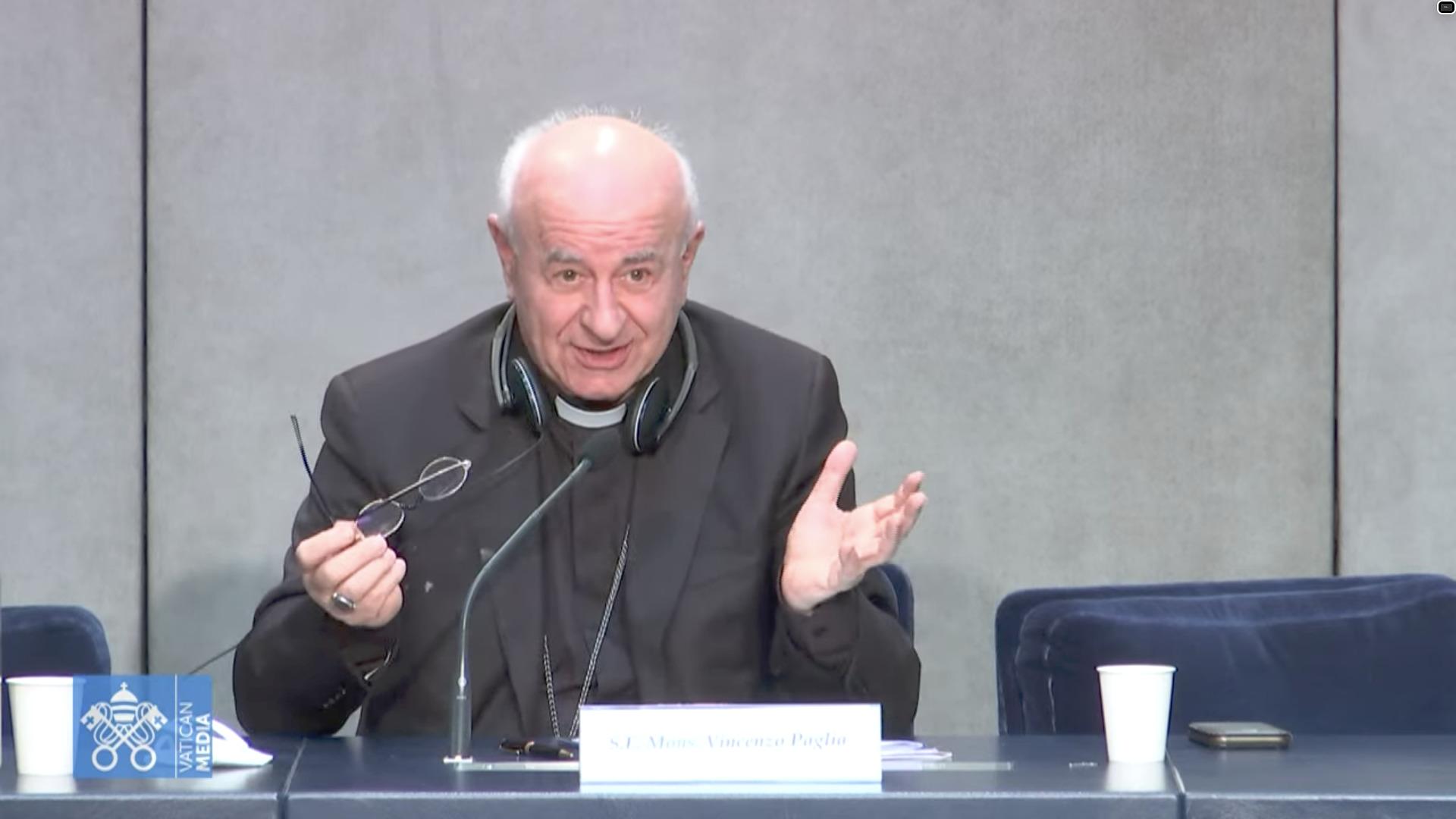Mgr Vincenzo Paglia, capture Zenit / Vatican Media