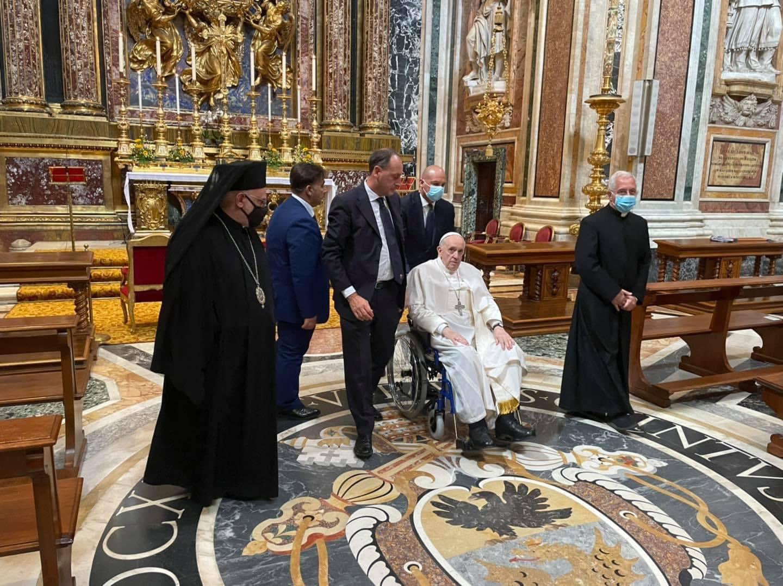 Sainte-Marie-Majeure, 14 juillet 2021 © Vatican Media