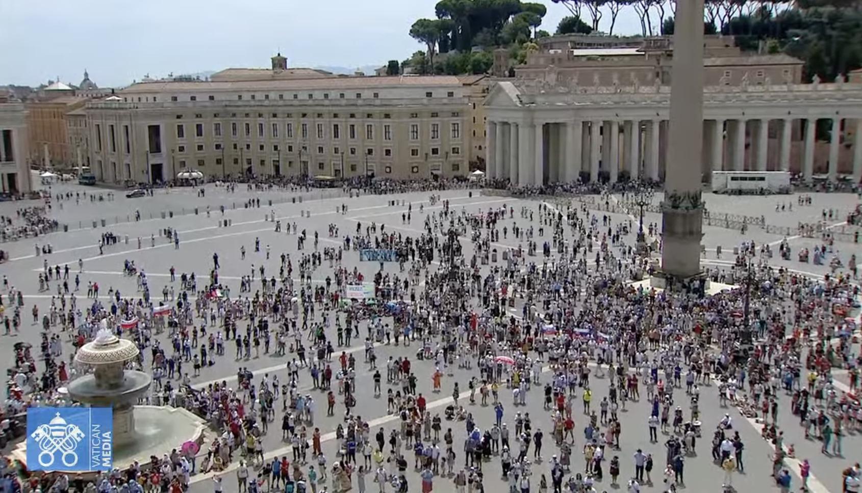 Angélus du 4 juillet 2021, capture Vatican Media