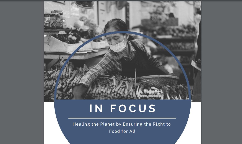 La nourriture pour tous, capture / humandevelopment.va