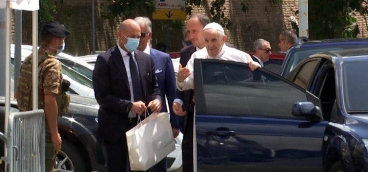 Retour au Vatican, 14 juillet 2021 © Vatican News