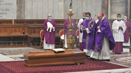 Obsèques de Mgr Lebeaupin © Vatican News