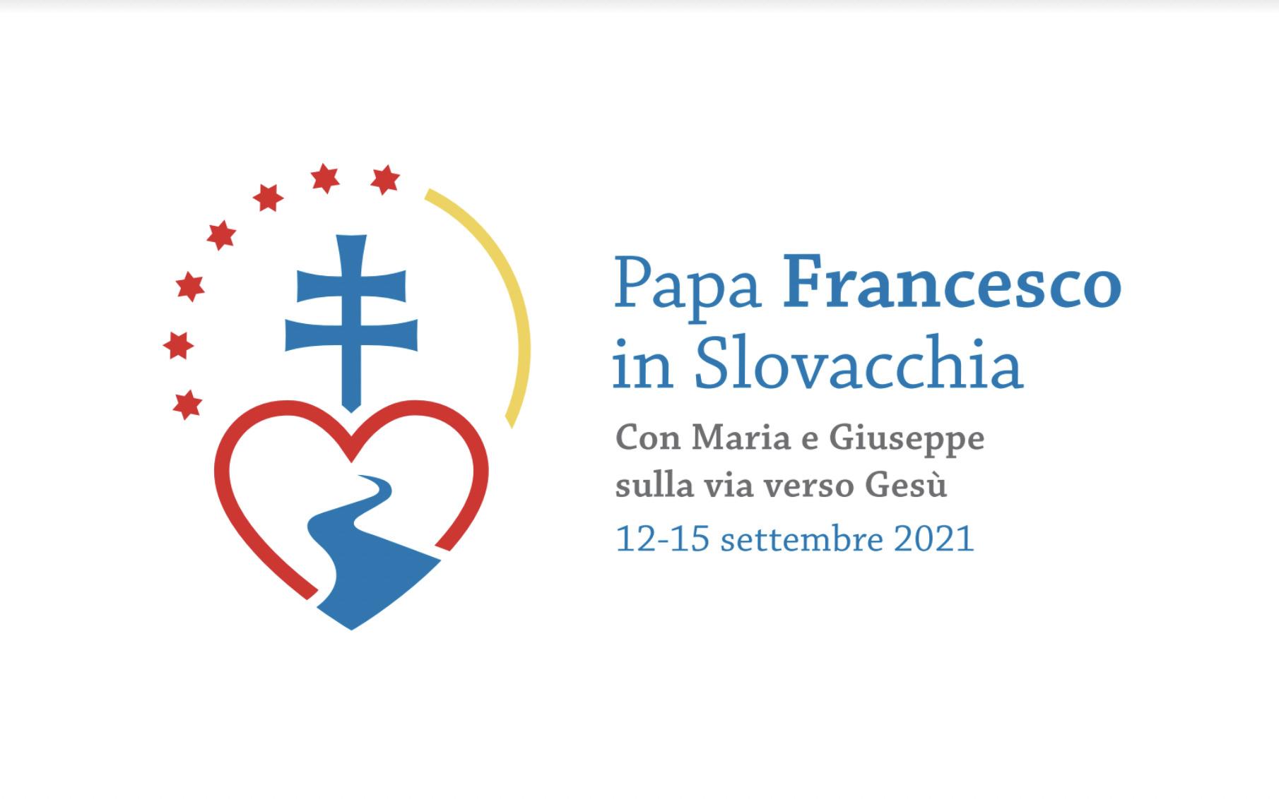 Logo et devise © voyage du Pape François en Slovaquie