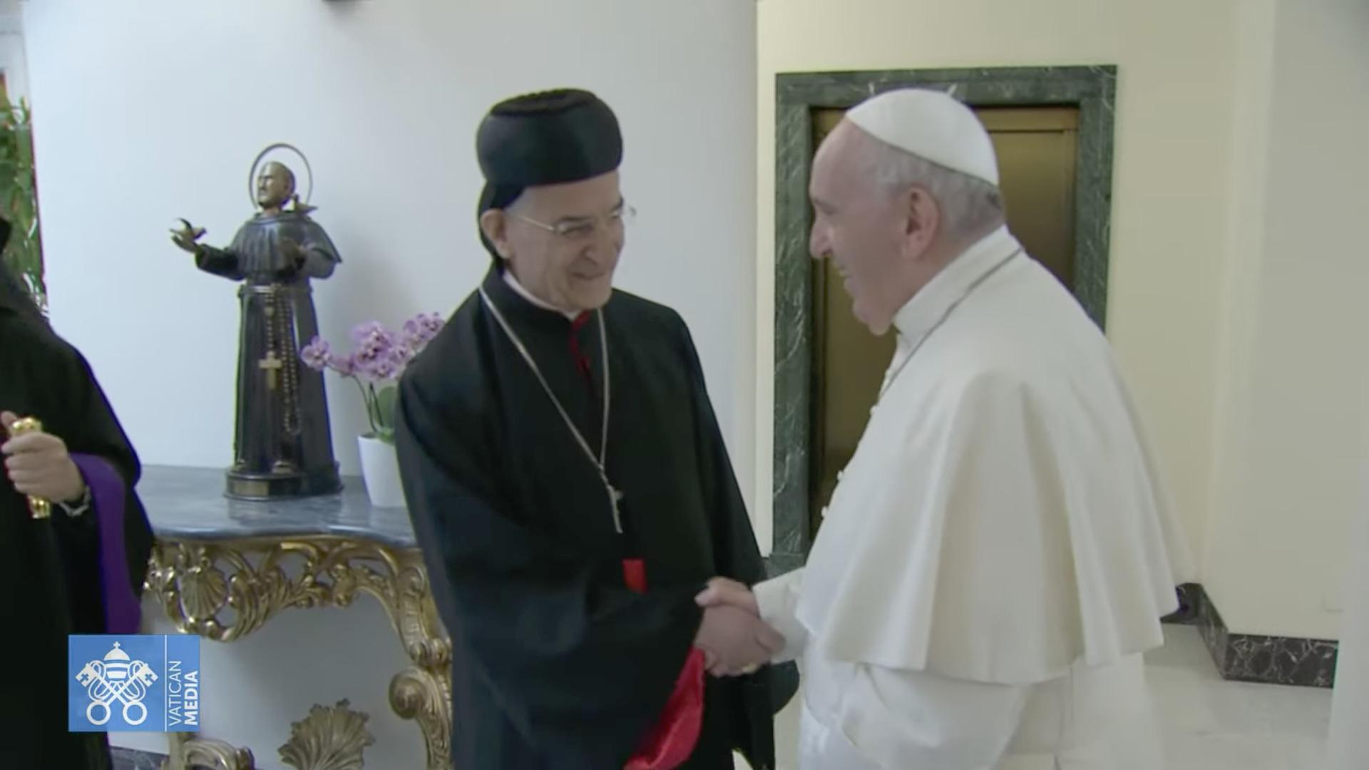 Cardinal Béchara Boutros Raï, capture Zenit / Vatican Media