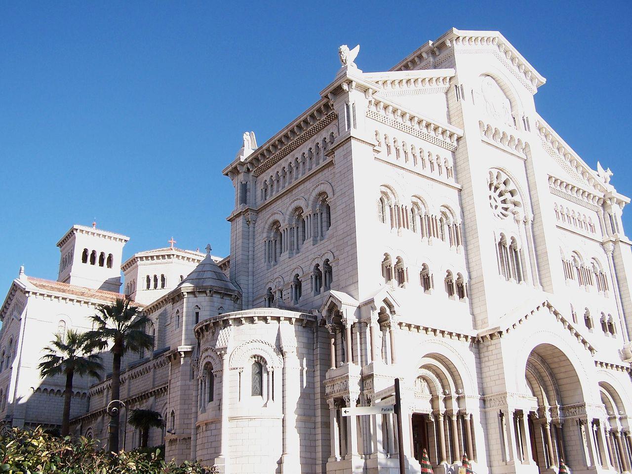 Principauté de Monaco, cathédrale de l'Immaculée © wikimedia commons / DarioSpagnolo