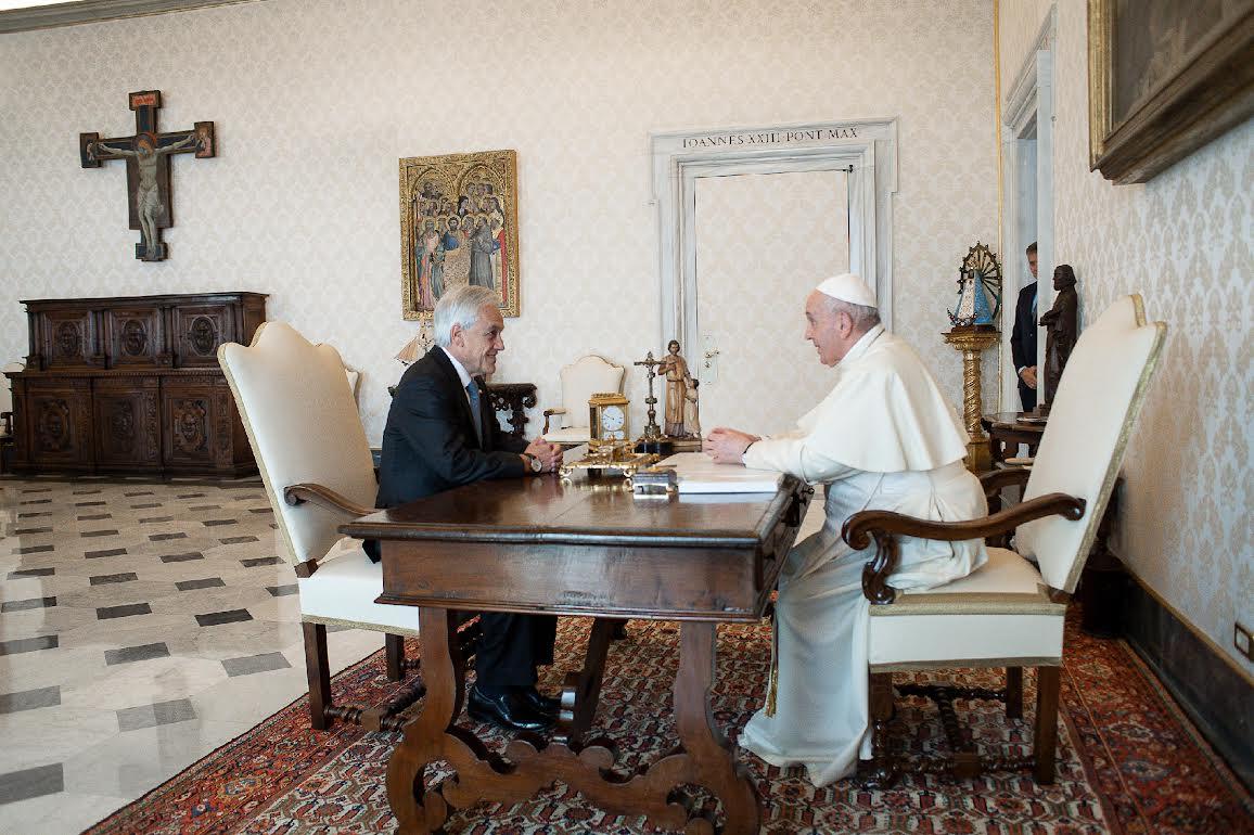 M. Piñera Echenique, Président du Chili © Vatican Media