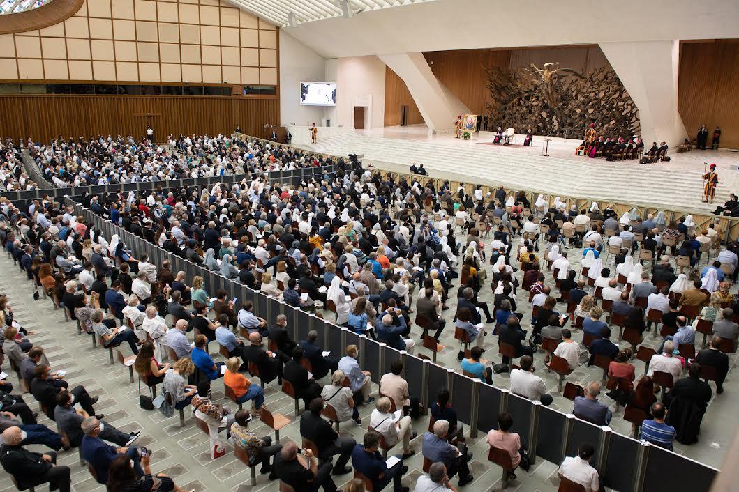 Diocèse de Rome, 18 sept. 2021 ©Vatican Media