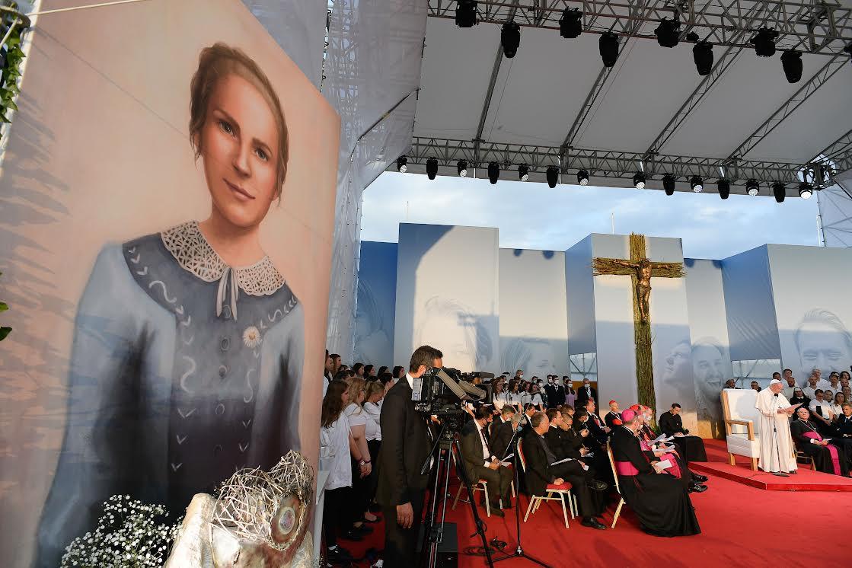 Bse Anna Kolesárová, Kosice © Vatican Media