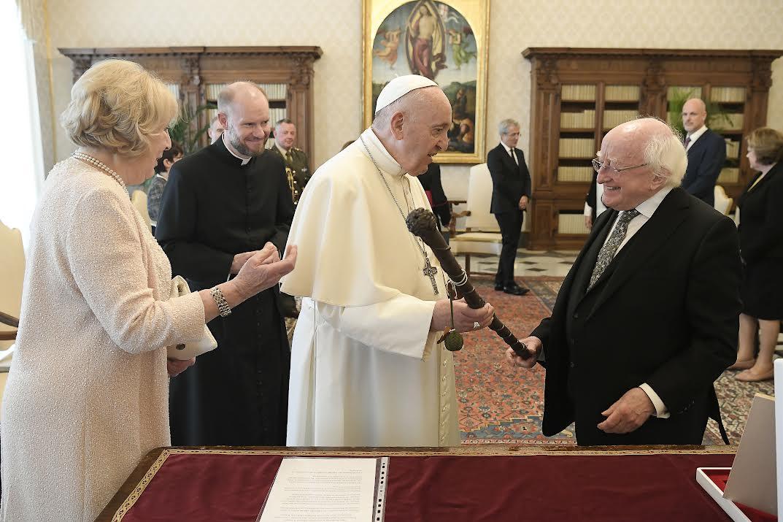 Président Michael Higgins © Vatican Media