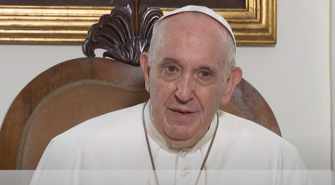 La Vidéo du Pape, octobre 2021 © Capture Zenit / RMPP