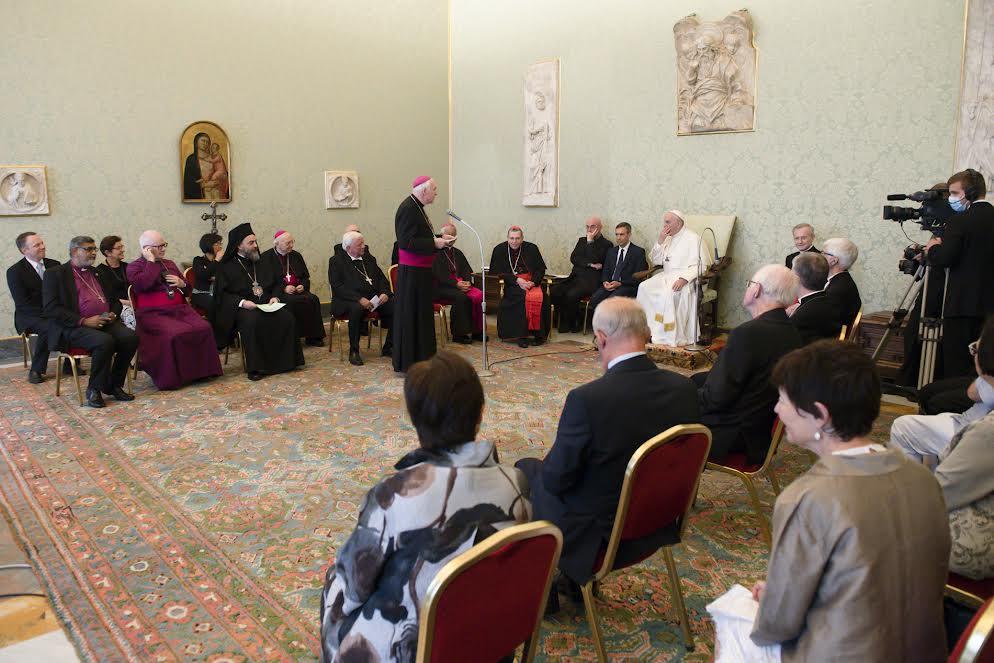 Evêques du Mouvement des Focolari © Vatican Media