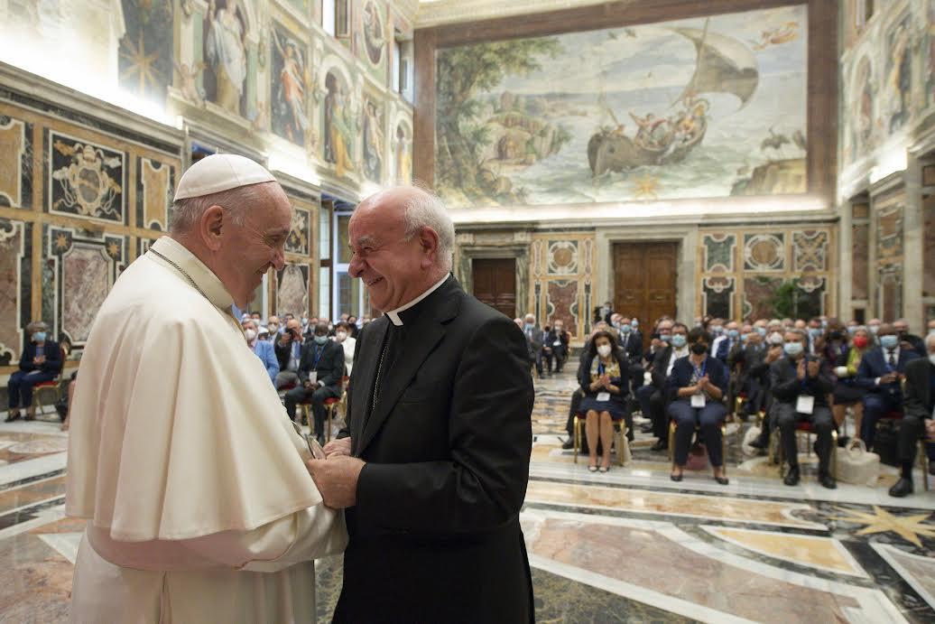 Mgr Paglia, Académie pontificale pour la vie, 27 sept. 2021 © Vatican Media