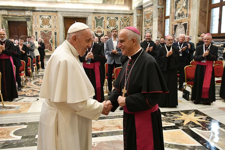 Mgr Fisichella, Catéchistes, 17 sept. 2021 © Vatican Media