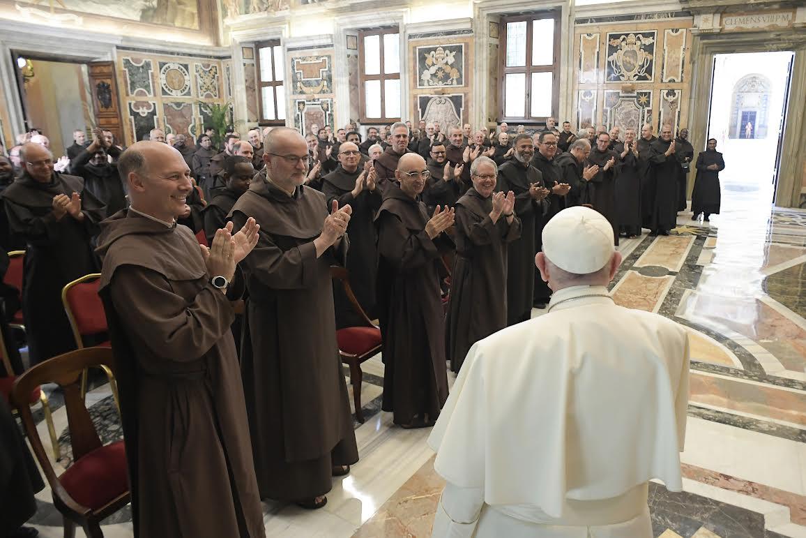Chapitre des carmes © Vatican Media