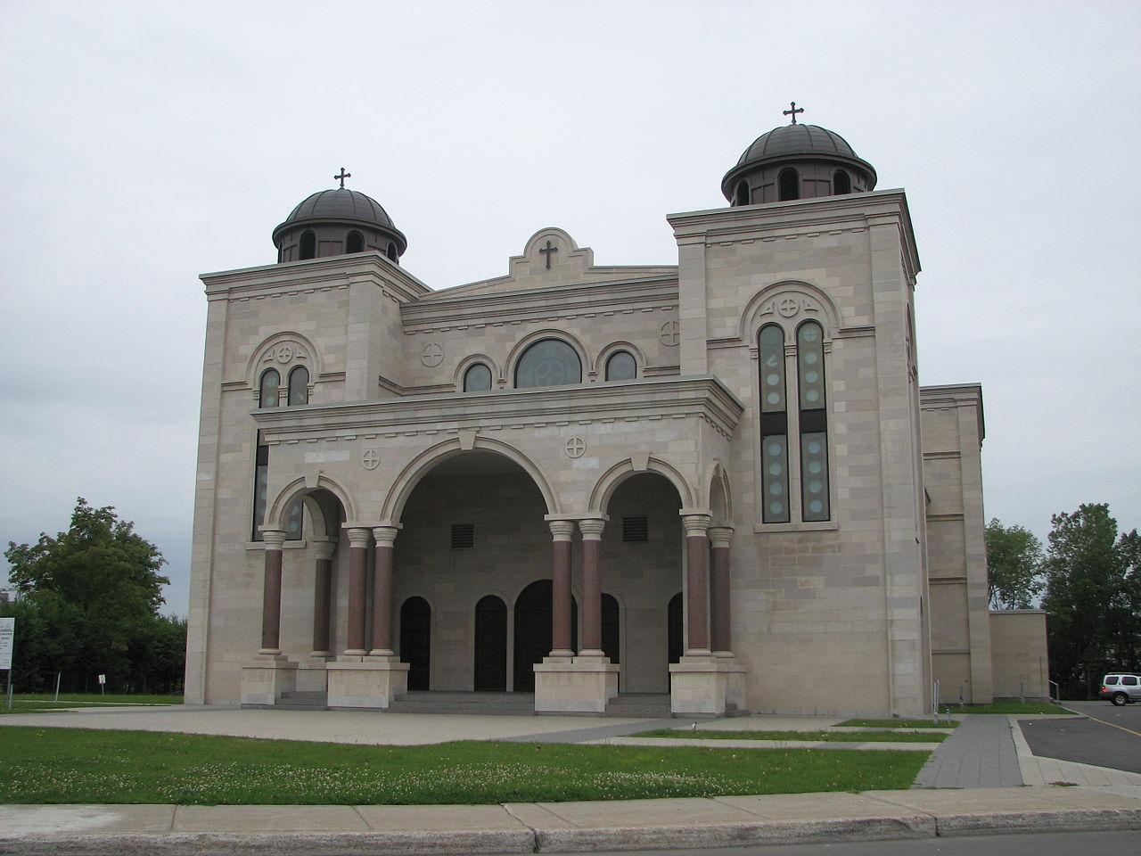 Cathédrale grecque-melkite Saint-Sauveur de Montréal (Canada) © wikimedia commons / Stéphane Batigne