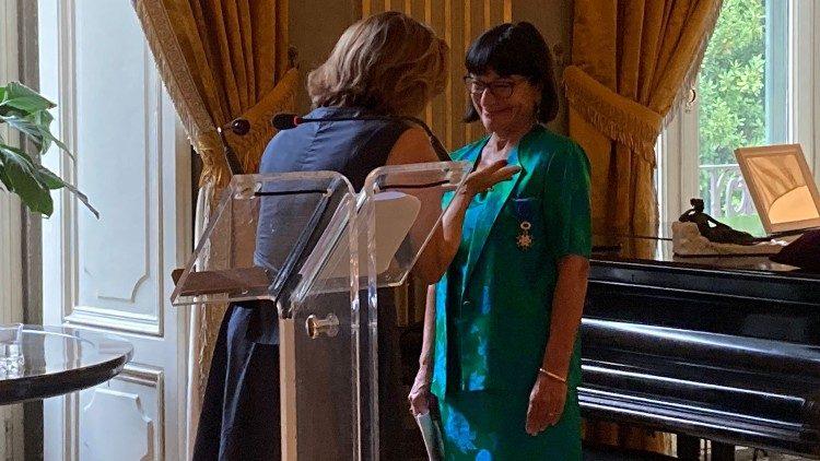Romilda Ferrautoi et Elisebeth Beton Delègue © Vatican News