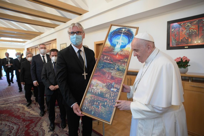 COE de Slovaquie, M. Elko © Vatican Media