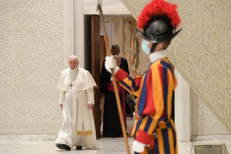 Audience, 22 sept. 2021 © Vatican Media