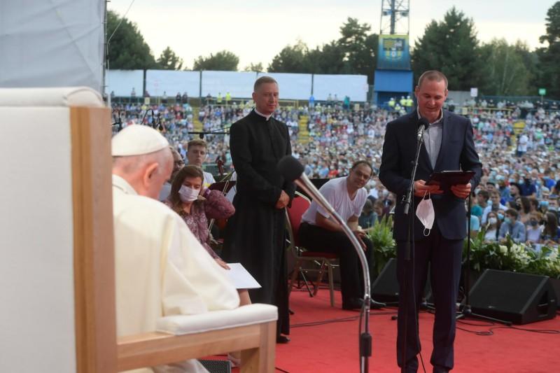 Peter Lešak © Vatican Media