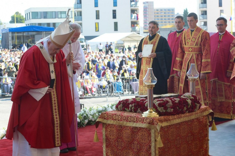 Messe à Presov, Slovaquie © Vatican Media
