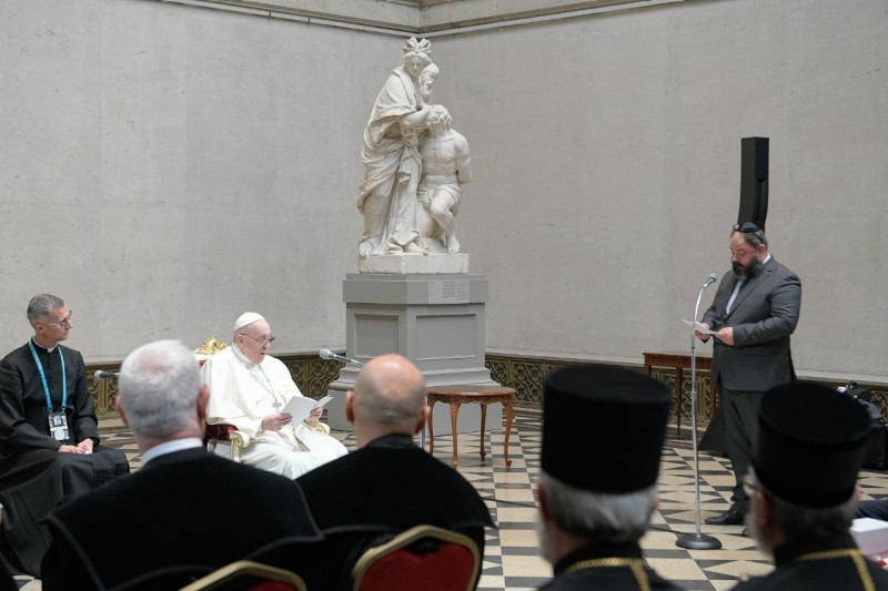 Rabbin Zoltan Radnoti © Vatican News