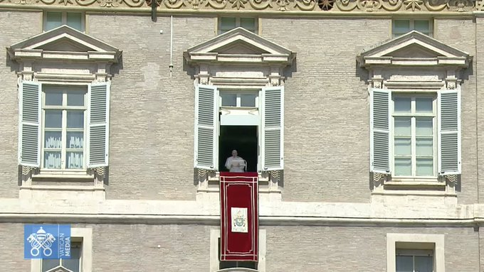 Angélus, 19 sept. 2021 © capture Zenit / Vatican Media