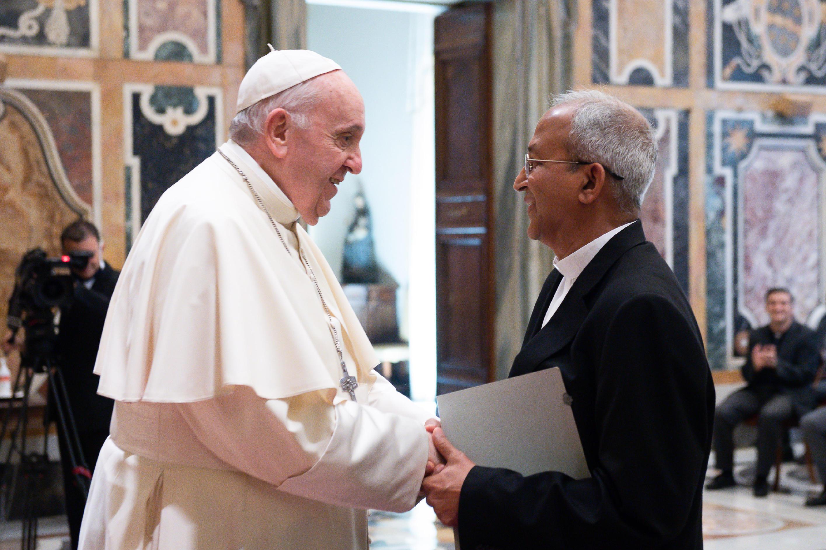 Chapitre Général des Clarétains, 9 septembre 2021 , © Vatican Media